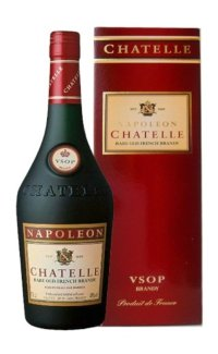 Бренди Chatelle V.S.O.P. Napoleon Rare Old French Brandy 0.7 л