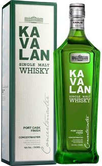 Виски Kavalan Concertmaster Port Cask Finish 0.7 л