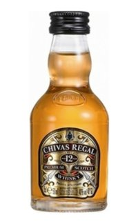 Виски Chivas Regal 12 Y.O. 0.05 л