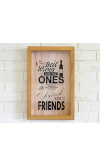Подарочная упаковка Box for wine corks The Best Wines Are The Ones We Drink With Friends