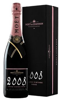 Шампанское Moet & Chandon Brut Vintage Rose 2008 0.75 л