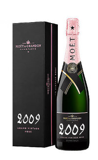 Шампанское Moet & Chandon Brut Vintage Rose 2009 0.75 л