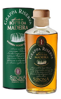Граппа Sibona Riserva Madeira Wood Finish 0.5 л