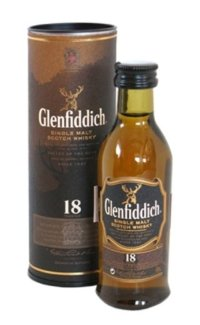 Виски Glenfiddich Malt Scotch Whisky 18 Y.O. 0.05 л