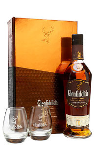 Виски Glenfiddich Malt Scotch Whisky 18 Y.O. 0.75 л
