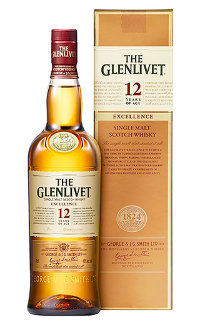 Виски Glenlivet 12 Y.O. Excellence  0.7 л