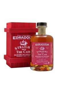 Виски Edradour Straight from The Cask Burgundy cask finish 2002 0.5 л