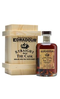 Виски Edradour Straight from The Cask Sherry cask matured 2004 0.5 л