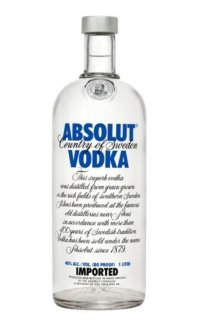 Водка Absolut Vodka 0.5 л