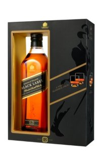 Виски Johnnie Walker Black Label Glass Pack 0.7 л