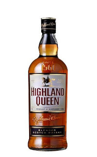 Виски Highland Queen 3 Years Old 0.7 л