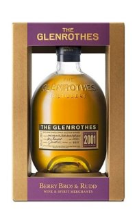 Виски Glenrothes Single Speyside Malt 2001 0.7 л