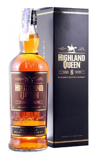 Виски Highland Queen 8 Years Old 0.7 л
