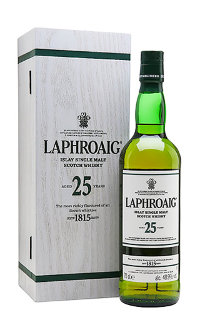 Виски Laphroaig 25 Single Islay Malt 0.7 л