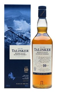 Виски Talisker 10 Years Old 0.75 л