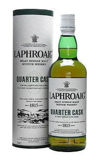 Виски Laphroaig Quarter Cask Single Islay Malt 0.7 л