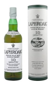 Виски Laphroaig 10 Single Islay Malt 0.7 л