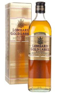 Виски Lombard Gold Label 0.7 л