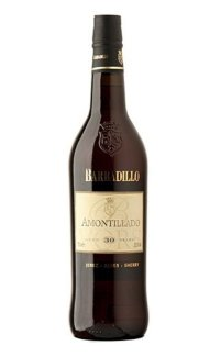 Херес Barbadillo Amontillado 30 Y.O. 0.75 л