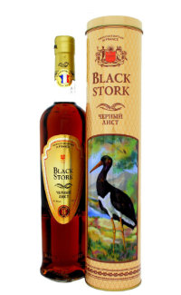 Бренди Black Stork 8 Years Old 0.5 л