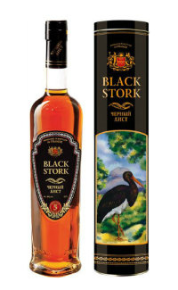 Бренди Black Stork 5 Years Old 0.5 л