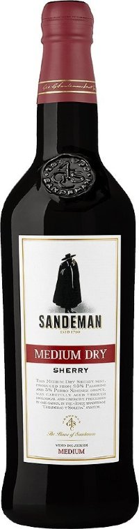 Sandeman Medium Dry Jerez Xerez Sherry DO